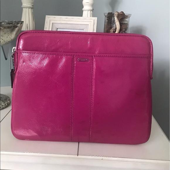 Coach Handbags - Coach iPad Case Holder Handbag Clutch